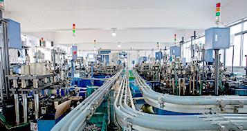 优微轴承生产流水线